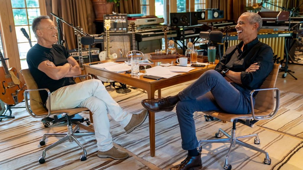 Barack Obama y Bruce Springsteen estrenan 'Renegades: Born in the USA', un podcast en Spotify sobre la vida