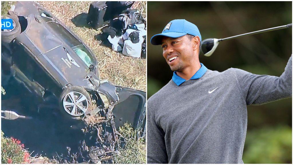 Tiger Woods sufre un accidente de coche y es hospitalizado