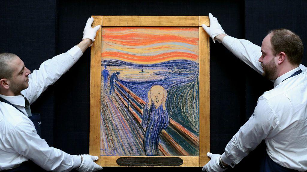 """""""Pintado por un loco"""": el mensaje oculto de Edvard Munch en su propio cuadro de 'El  Grito'"""