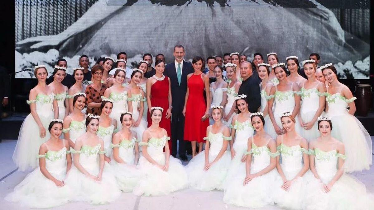 El 23-F de Letizicia: en clase de ballet con sus hermanas