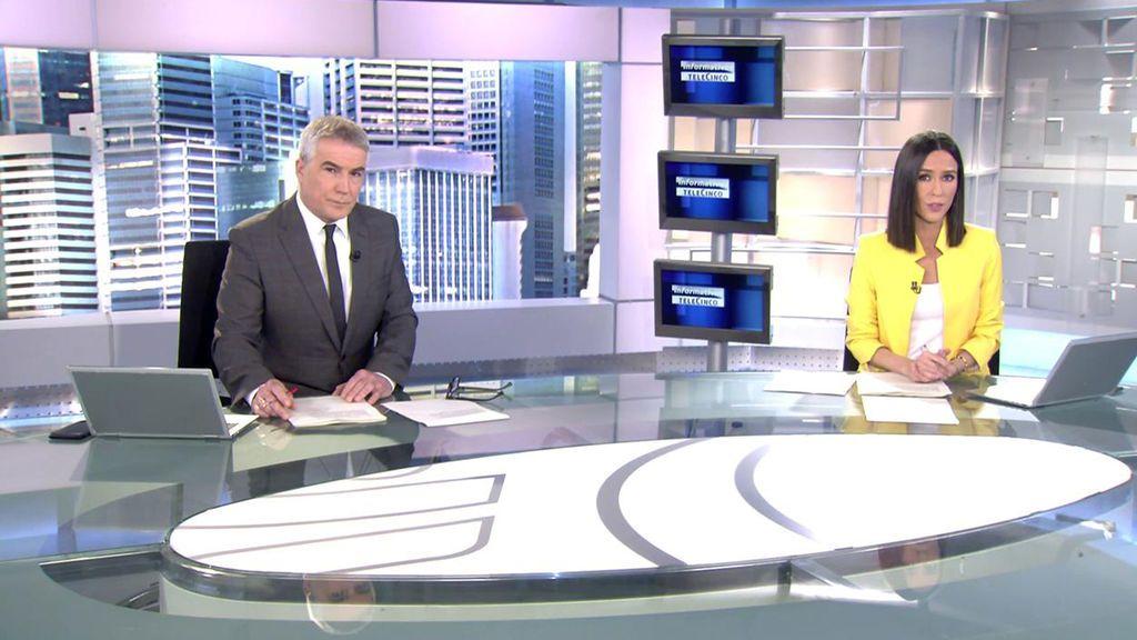 Informativos Telecinco 2021 Mediodía 23/02/2021