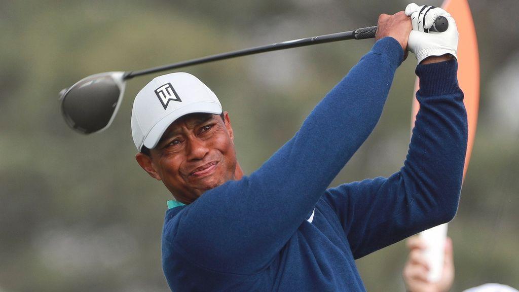 Tiger Woods, hospitalizado tras un accidente de tráfico