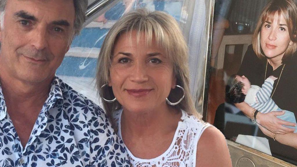 Los dos grandes apoyos de Julia Otero: su marido y su hija Candela