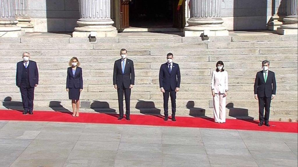 Felipe VI preside el acto por el 40 aniversario del 23-F