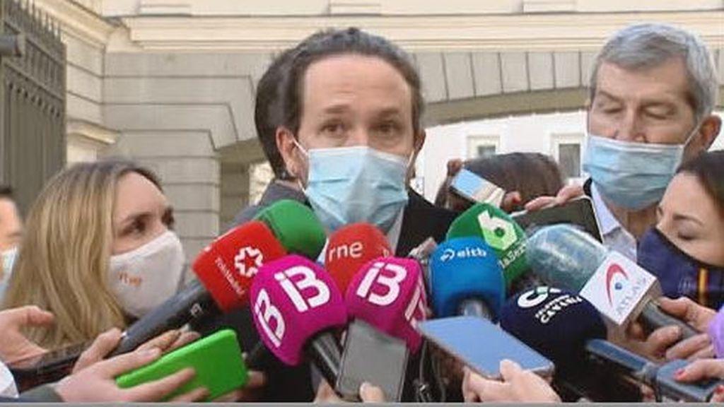 """Iglesias: """"no nos vamos a callar"""""""