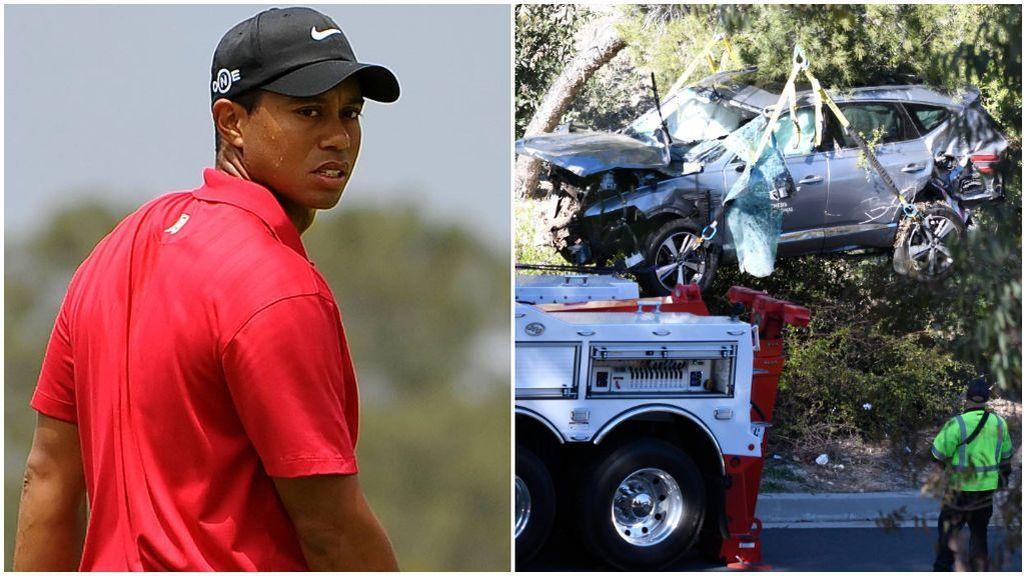 """El primer parte médico de Tiger Woods tras su accidente de coche: """"Sufre varias lesiones ortopédicas importantes"""""""