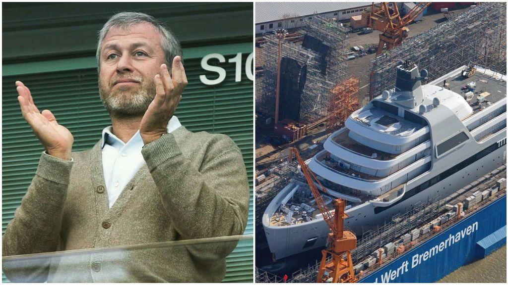 Roman Abramovich tendrá nuevo yate a partir de este verano.