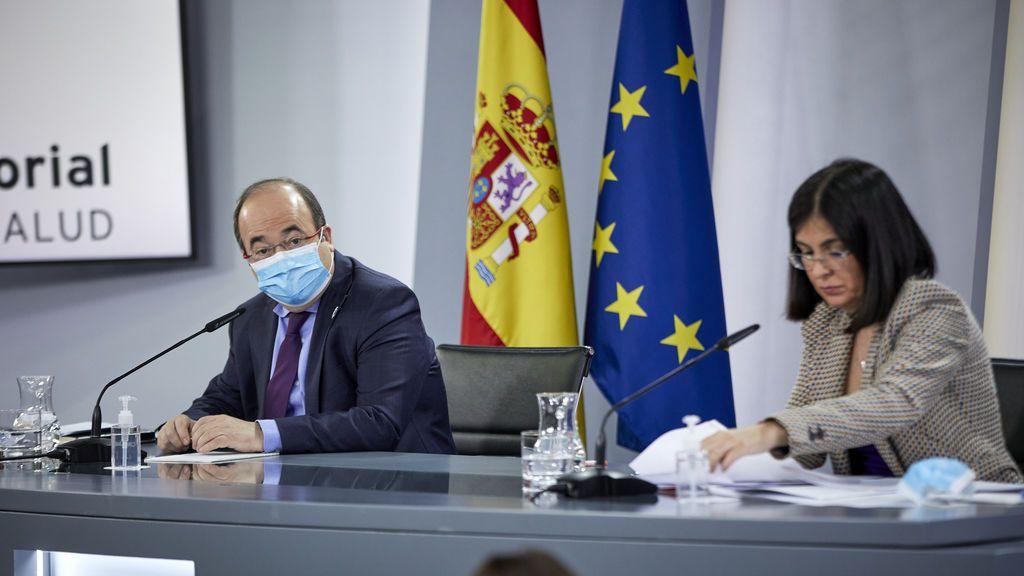 En directo: Carolina Darias y Miquel Iceta se reúnen con las CC.AA