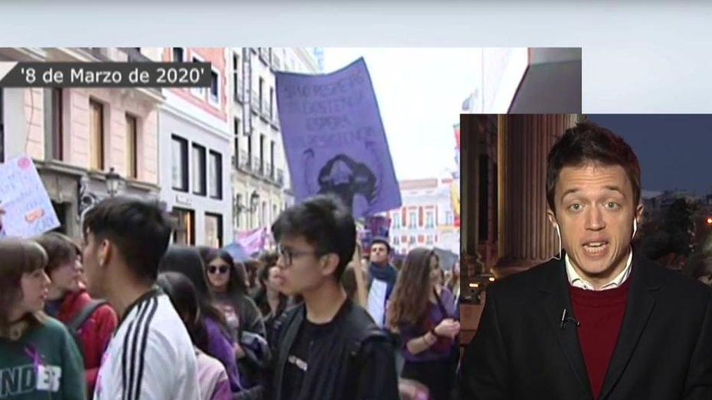 Errejón defiende la manifestación del 8M