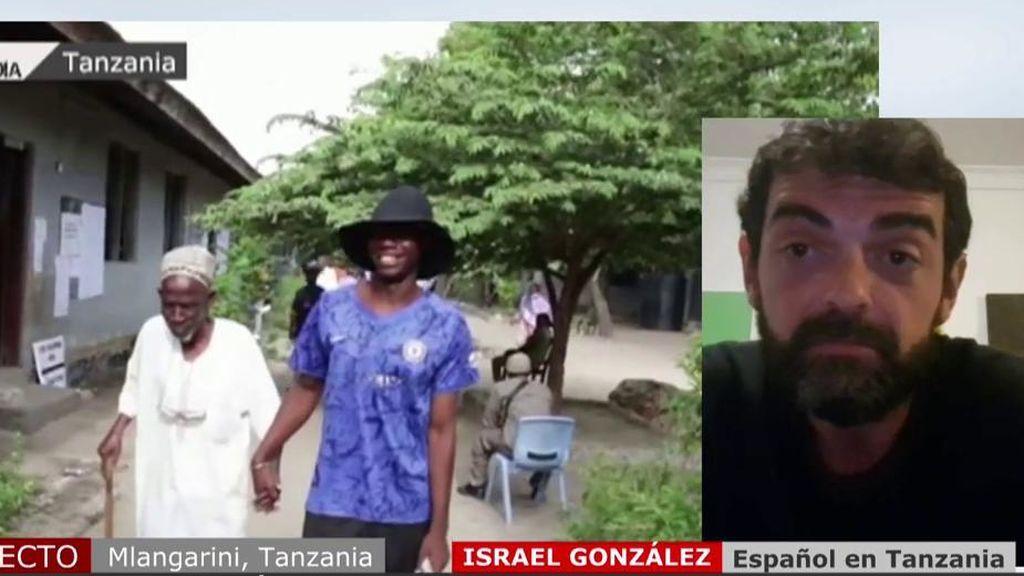 Hablamos con Israel González, residente en Tanzania