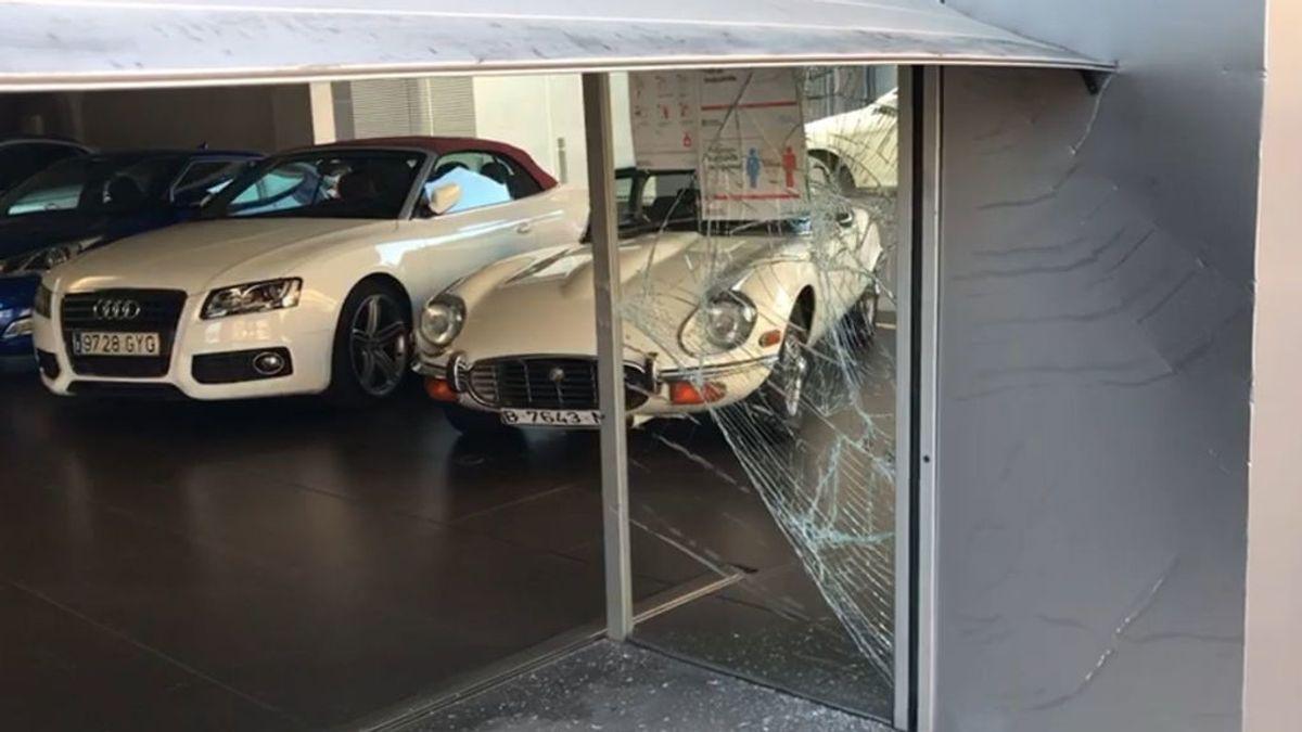 Roban tres coches de alta gama y los usan para cometer más alunizajes en Cerdanyola del Vallès, Barcelona