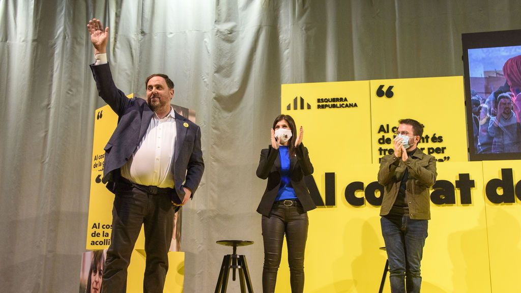 Junqueras y los otros condenados por el 'procés' seguirán en régimen de semilibertad por ahora