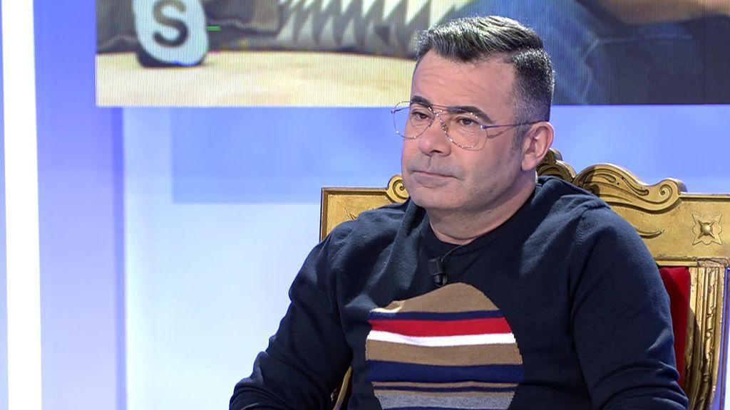 """Jorge Javier explica los motivos por lo que es poco cariñoso: """" Viví una infancia solitaria"""""""