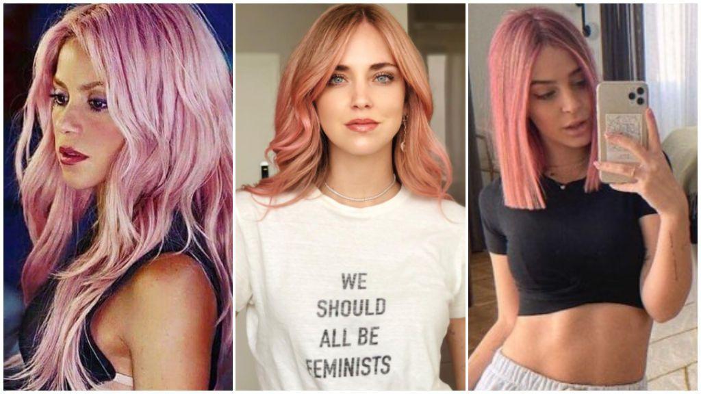 ¡Todo al rosa! 5 consejos para lucir tu pelo del color de la temporada como Laura Escanes, Shakira o Chiara Ferragni.