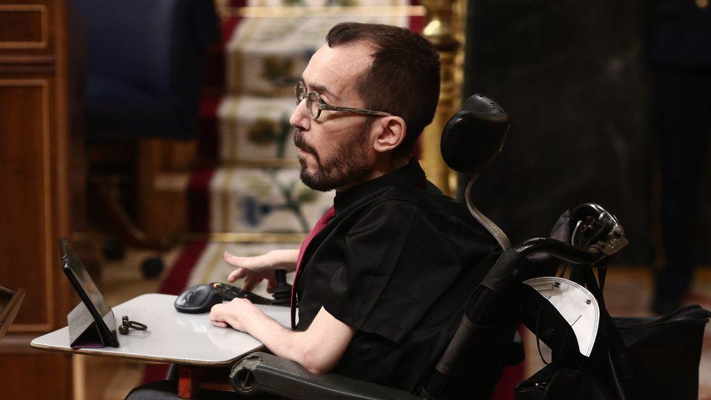 Pablo Echenique, en el Congreso