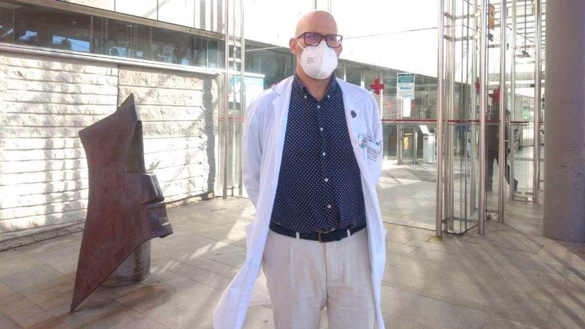 """José Ramón Silveira, psiquiatra: """"Nuestras consultas han aumentado un 25% en los últimos meses"""""""