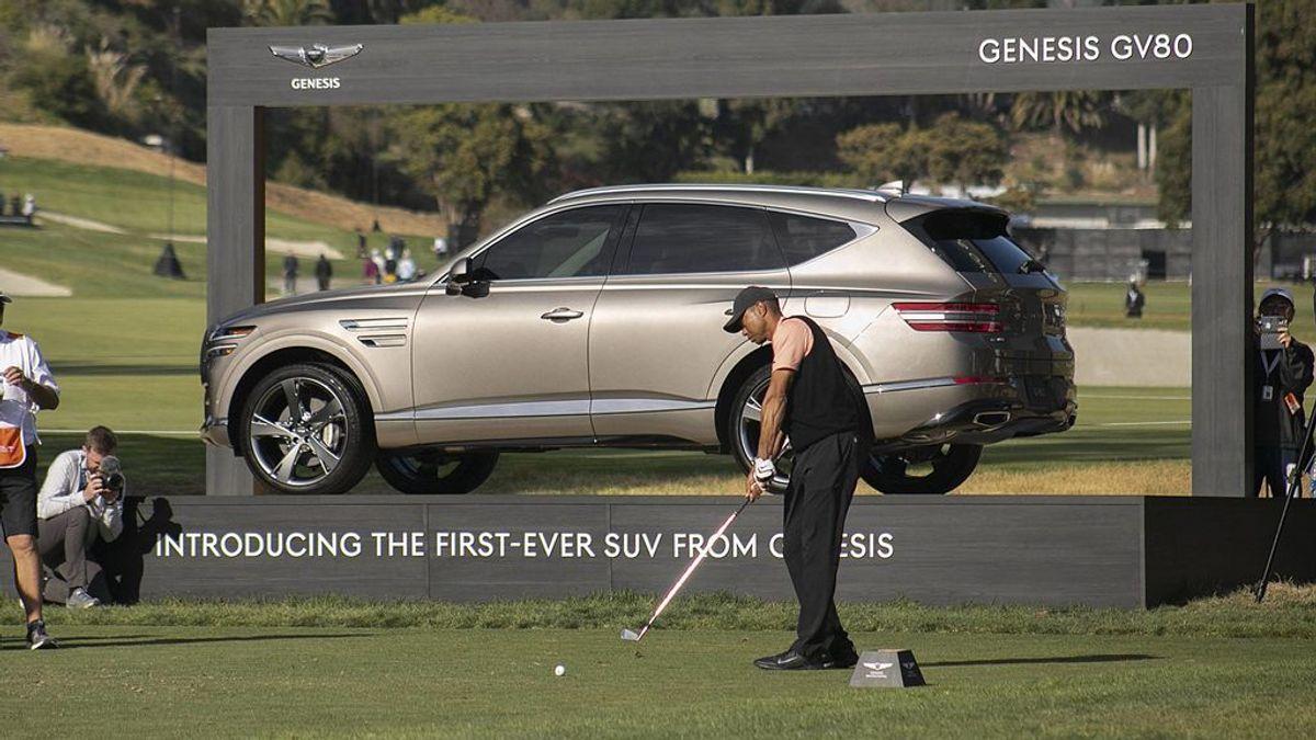 Genesis GV80, el coche de alta gama de Hyundai que ha salvado la vida a Tiger Woods