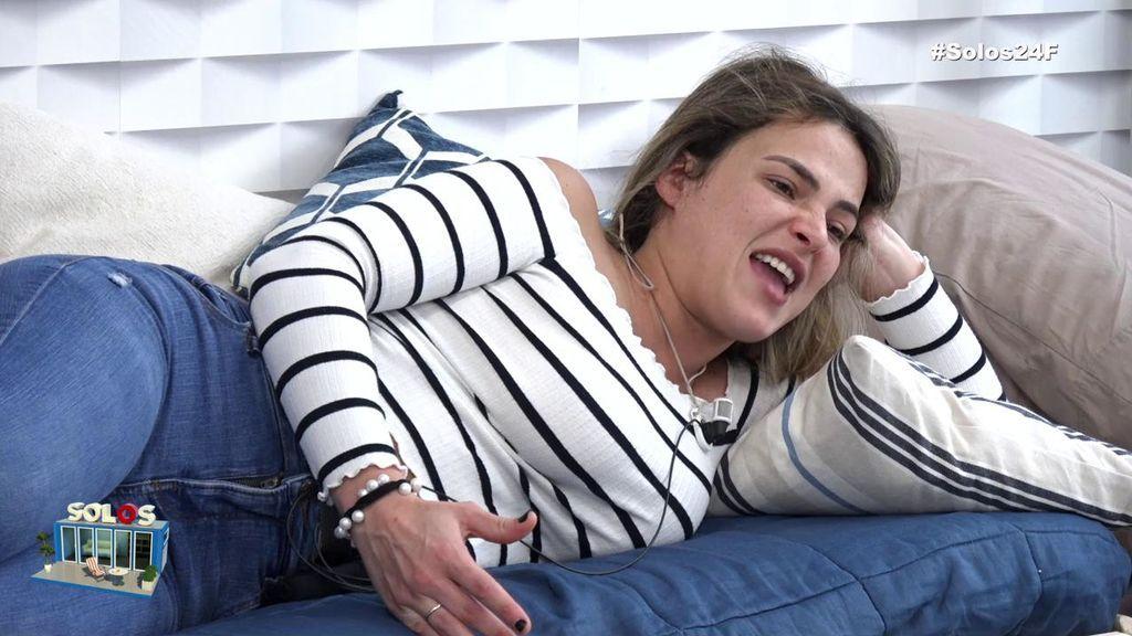 """Marta Peñate, enfadadísima con Noel Bayarri por mencionar a Mayka: """"¡Te deseo una novia como ella!"""""""