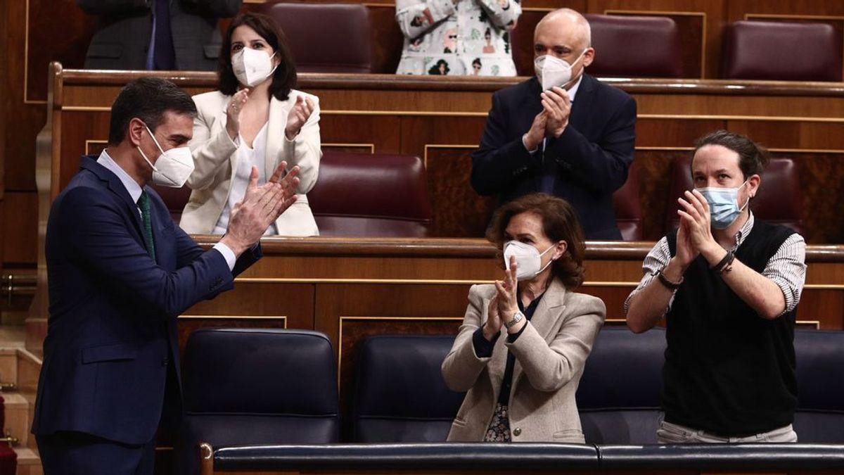 """Sánchez pide a Podemos """"bajar los decibelios"""" para poder resolver sus diferencias"""