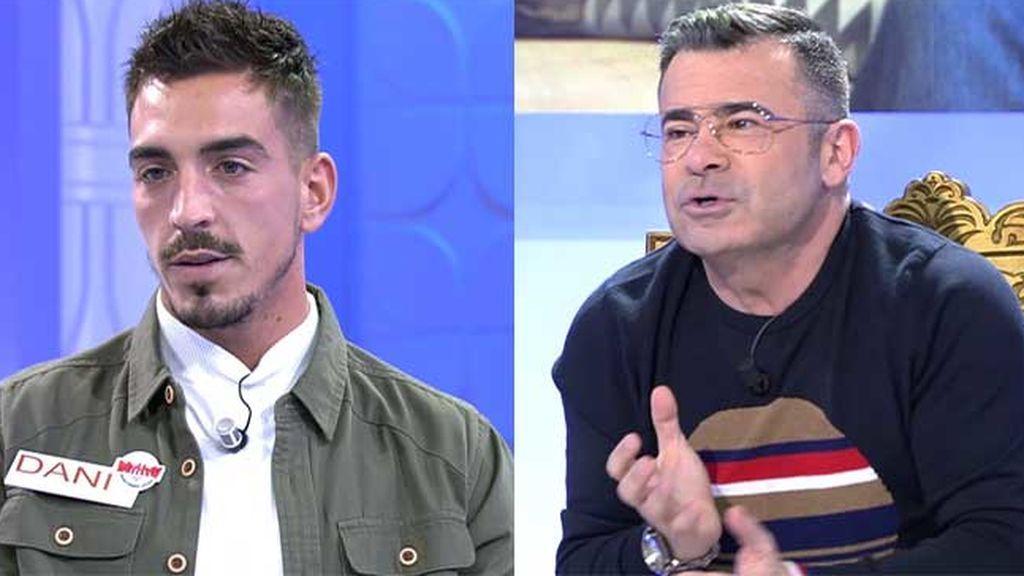 Confidencias en el trono de Jorge Javier: La verdadera relación de Dani con su presunto ex