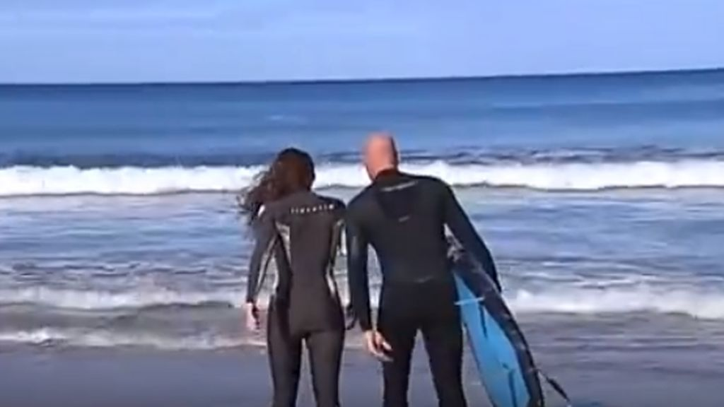 Surf en tándem, la nueva moda