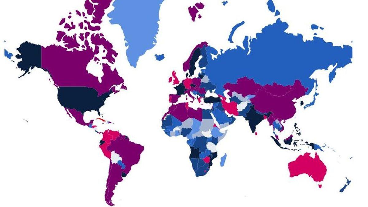 Estos son los países con las restricciones más duras para combatir el coronavirus
