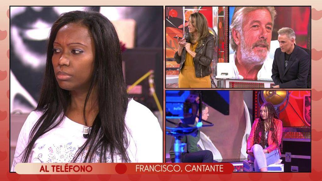 """Francisco entra en directo en 'Sálvame' y Denia se enfrenta él: """"Eres un canalla"""""""