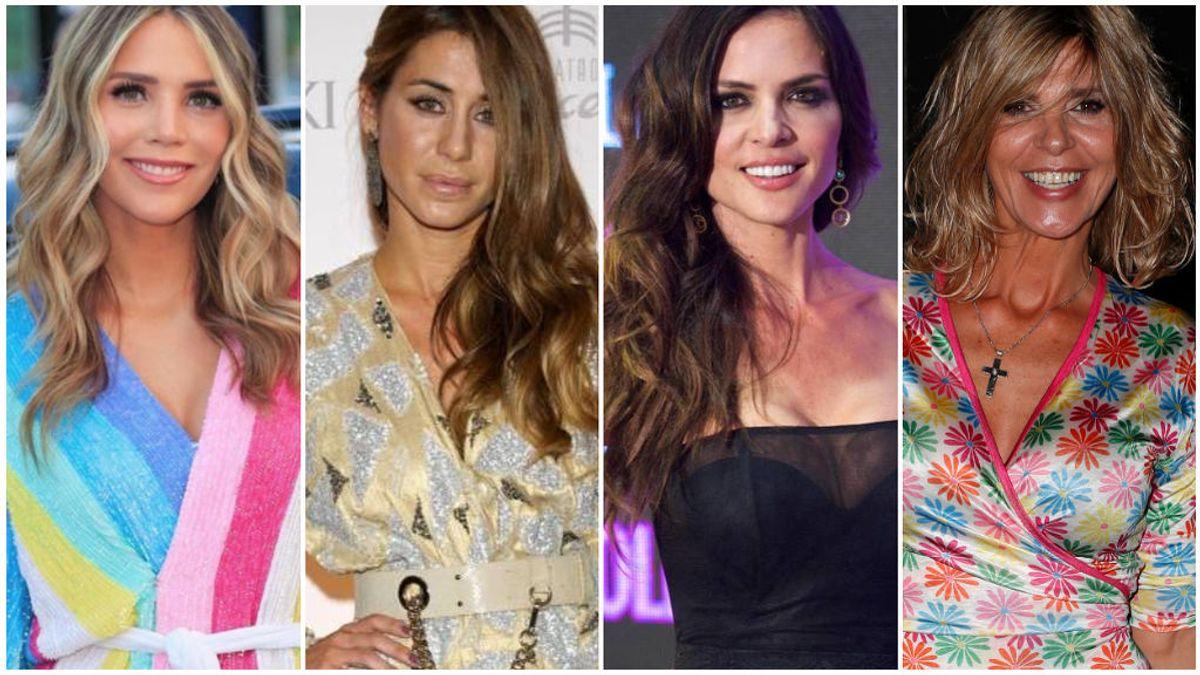 La de Belén Esteban y Maria José Campanario y otras guerras públicas entre parejas y ex de nuestros famosos.
