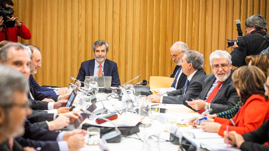 Carlos Lesmes vuelve a retirar los nombramientos del orden del día del pleno del CGPJ