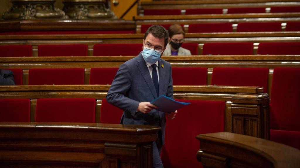 Los intentos de ERC por minimizar a Junts los relegan a una pugna con la CUP por la presidencia del Parlament