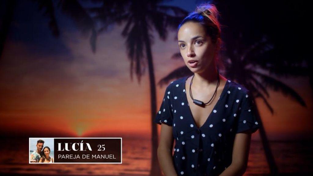 Lucía, de 'La isla de las tentaciones 3'