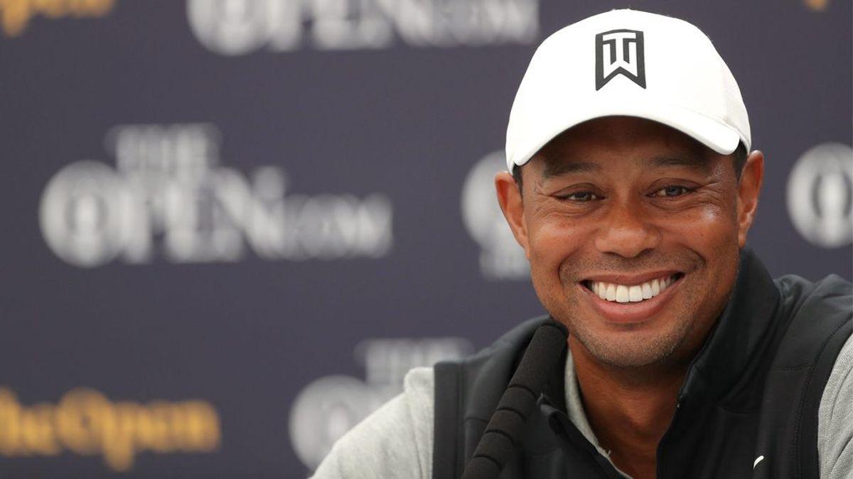 Tiger Woods se recupera en el hospital tras el accidente de coche.