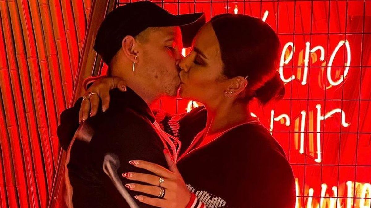 """Cristina Pedroche despierta los rumores de embarazo y Dabiz Muñoz responde: """"Voy a ser papá"""""""