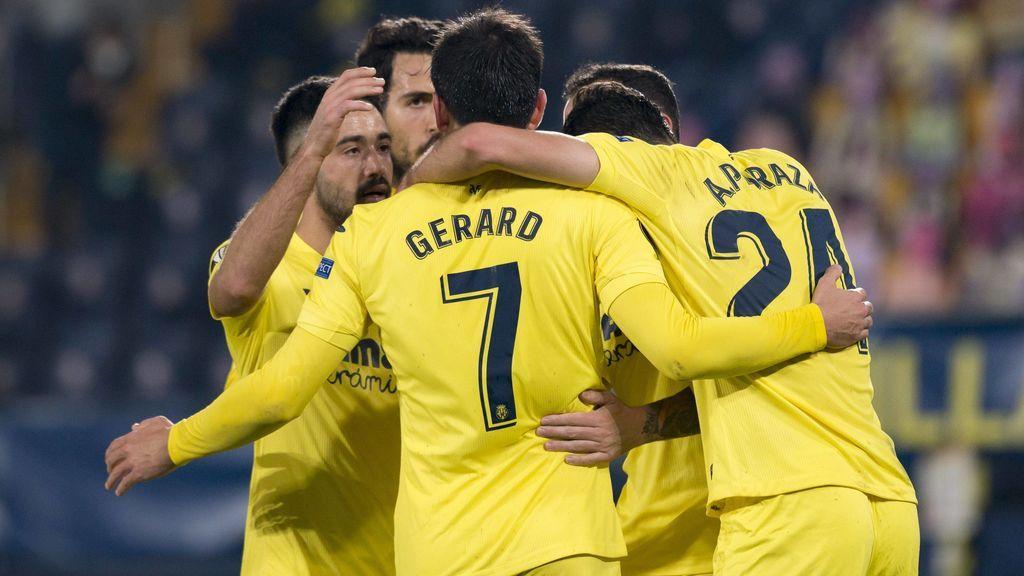 El Villarreal eliminó sin dificultad al Salzburgo.
