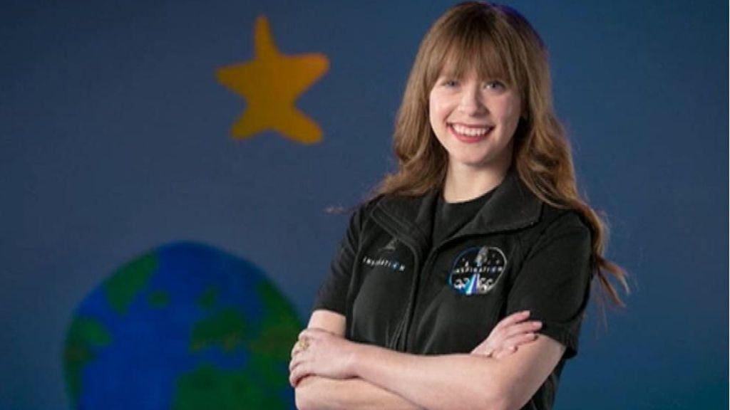 Arcenaux, superviviente de cáncer, viajará al espacio