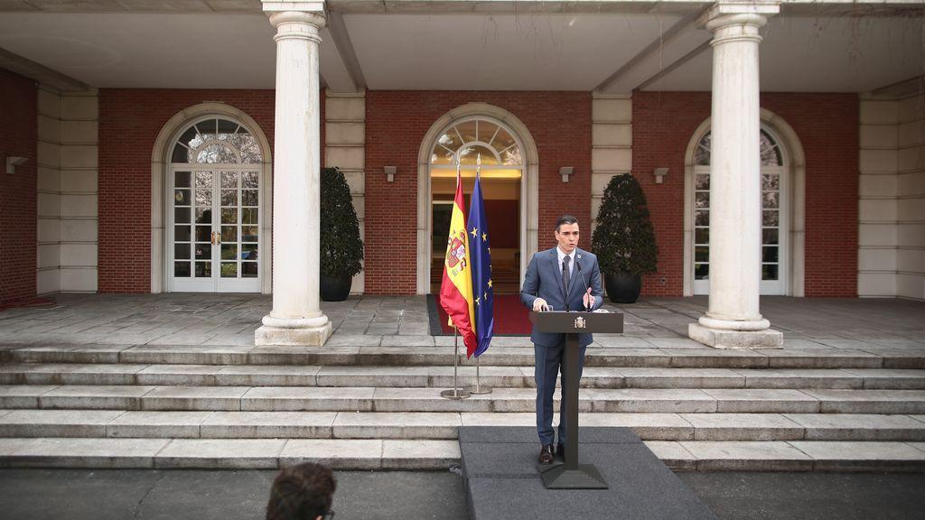 """Sánchez presiona al PP para renovar el CGPJ: """"El acuerdo es la única victoria duradera"""""""
