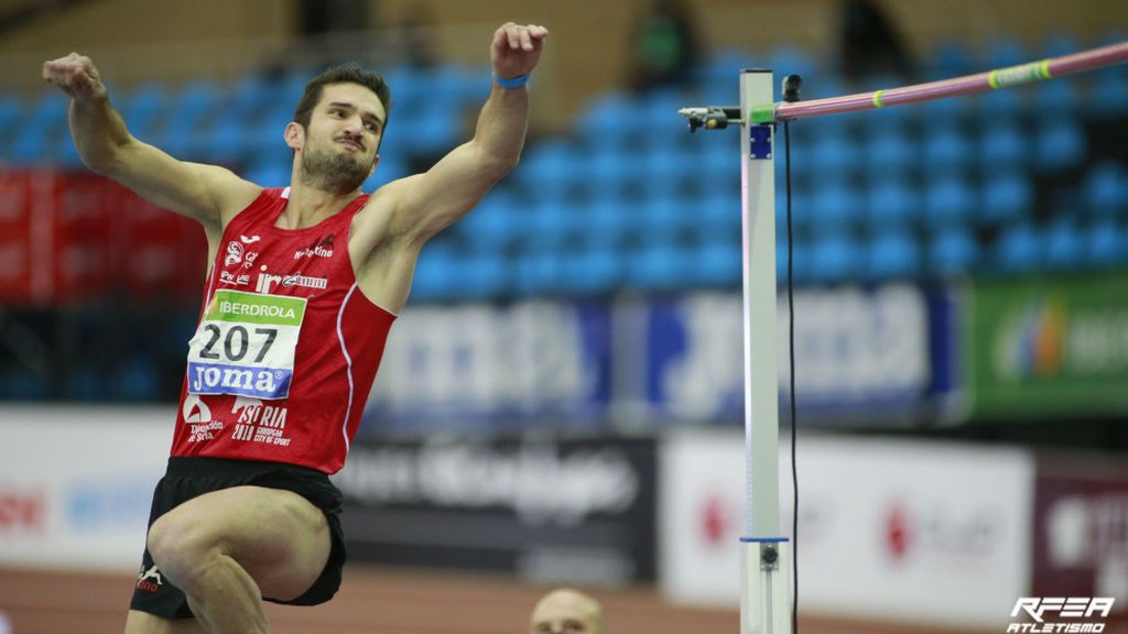 David Bolado, un campeón de España con bata y jeringuilla