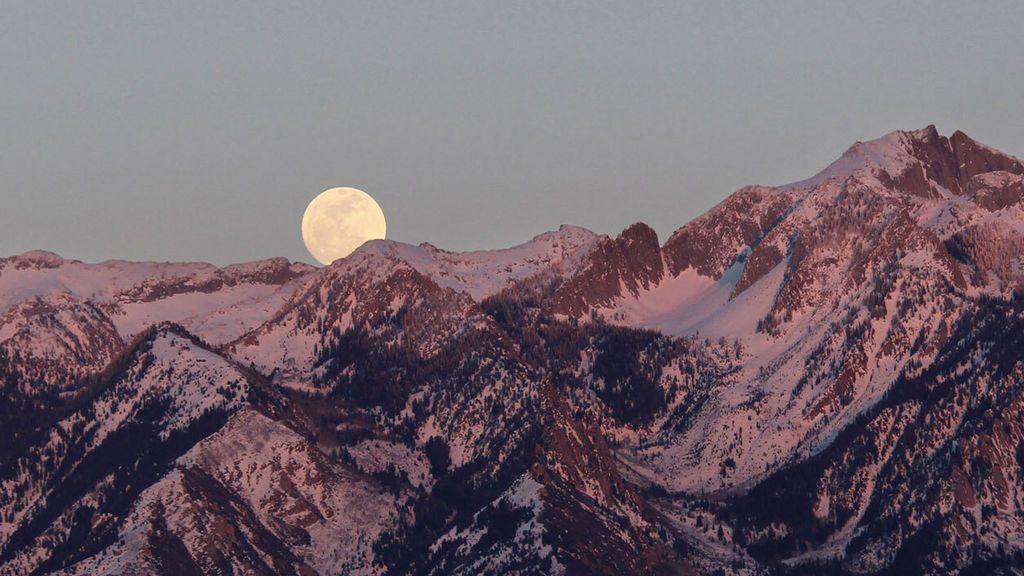 La luna de nieve iluminará el cielo las últimas noches de febrero