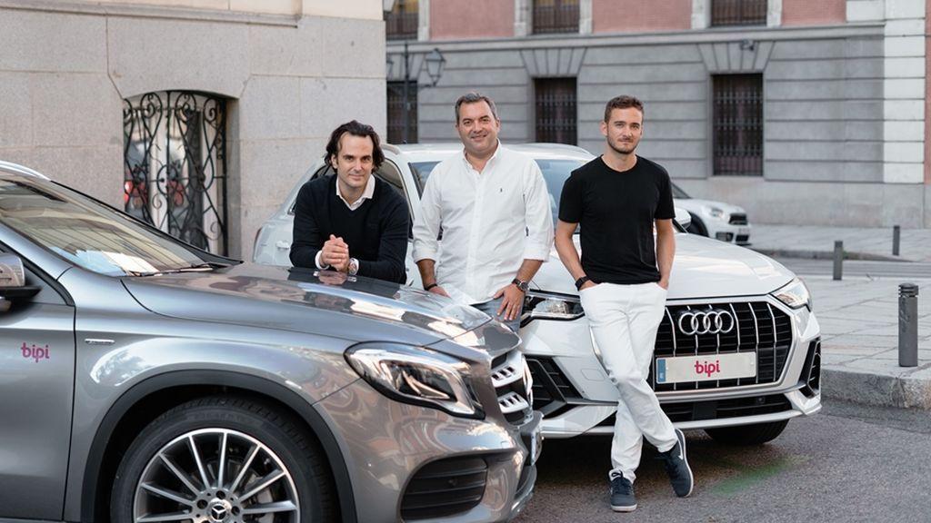 Equipo Bipi_ Alejandro Vigaray, cofundador_ José Luis Hernández, CSO_ y Hans Christ, cofundador Bipi (de izda a derecha)