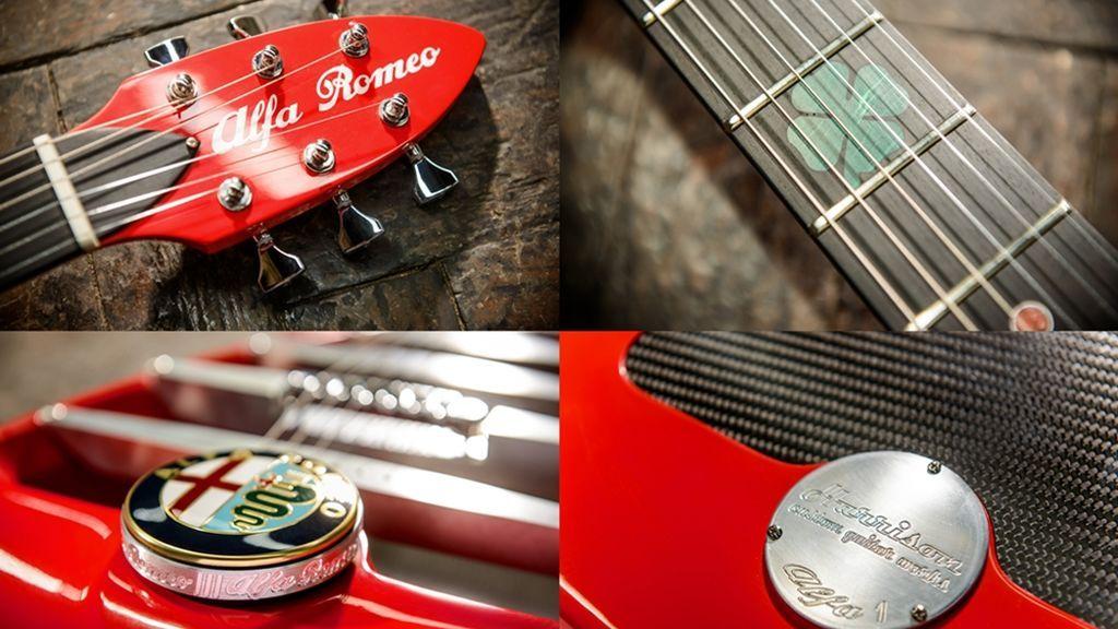 The Alfa Romeo by Harrison Custom Guitars 5