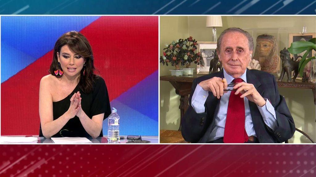 Jaime Peñafiel duda de la segunda regularización del Rey emérito