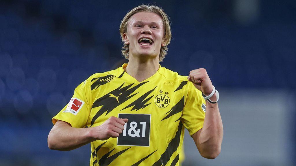 Erling Haaland llegó al Dortmund del Salzburgo.