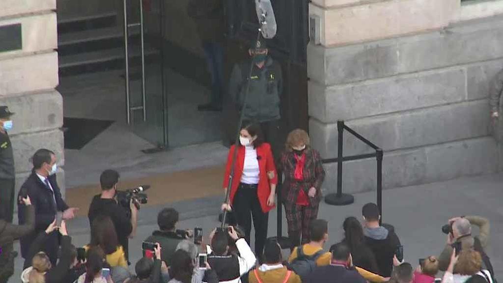 El encuentro de María Teresa Campos con Díaz Ayuso