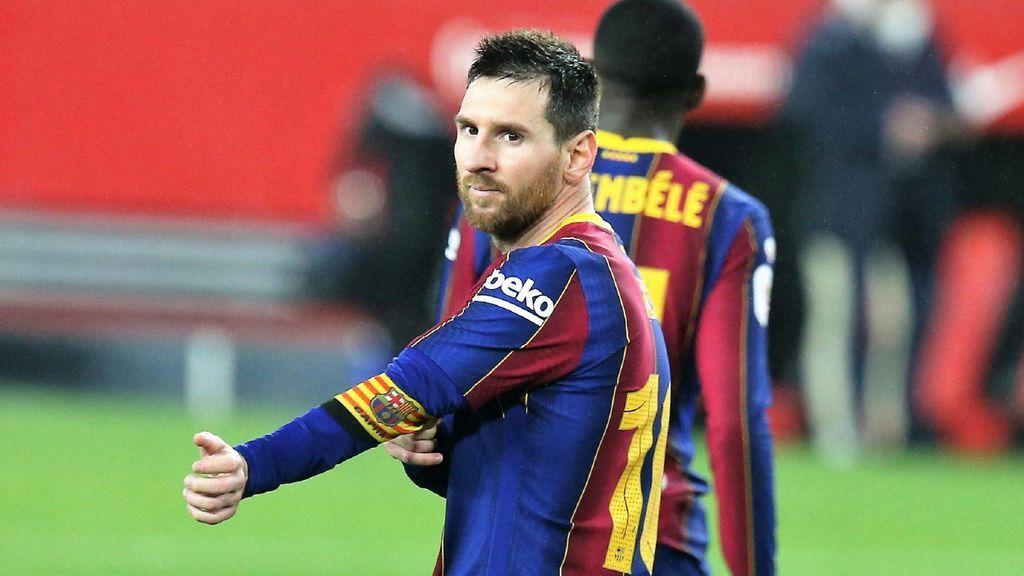 Messi está en un gran momento de forma.