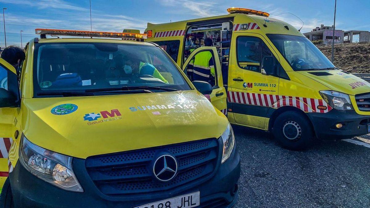 Un conductor muere en Madrid embestido por otro coche al quedarse sin gasolina en mitad de la R-5