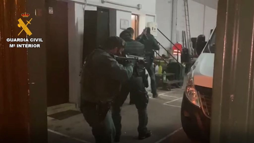 Operación antidroga en Málaga