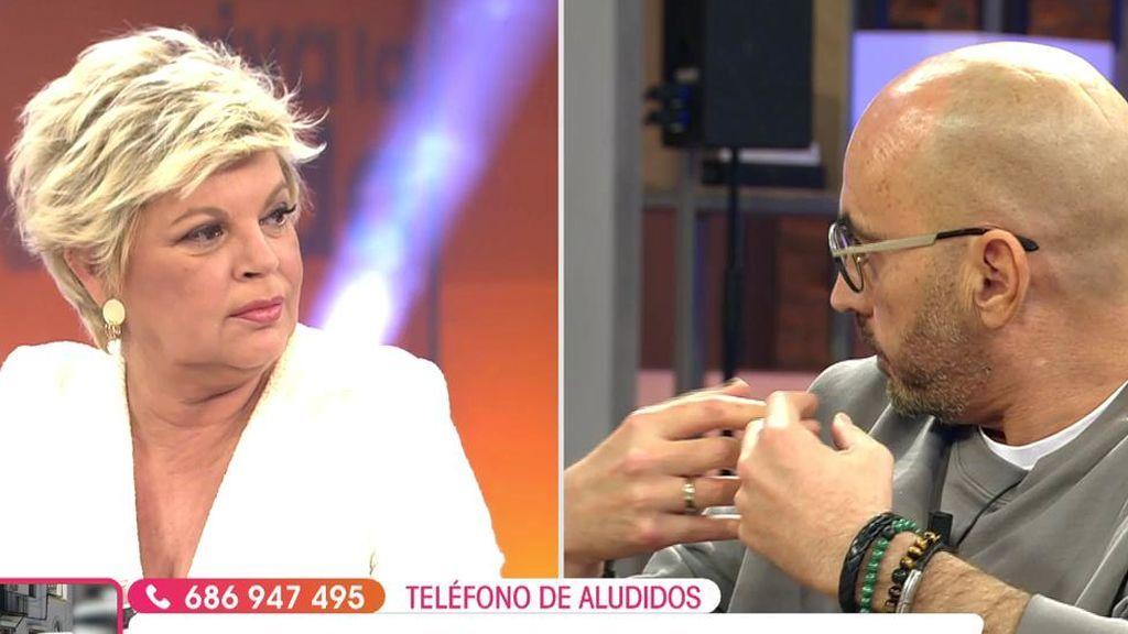 Enfrentamiento entre Diego Arrabal y Terelu Campos