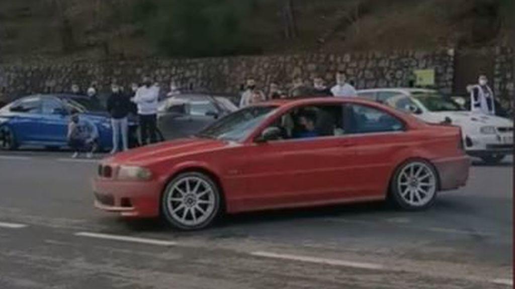Conducción temeraria en la Sierra de Cazorla