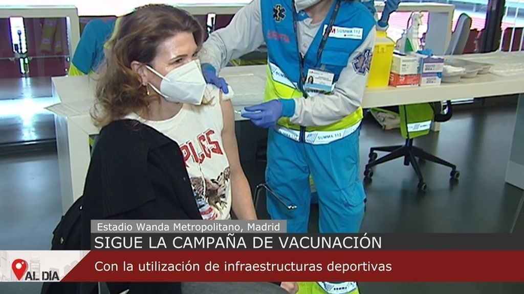 Madrid duplica los vacunados este domingo y espera afrontar con garantías la vacunación masiva