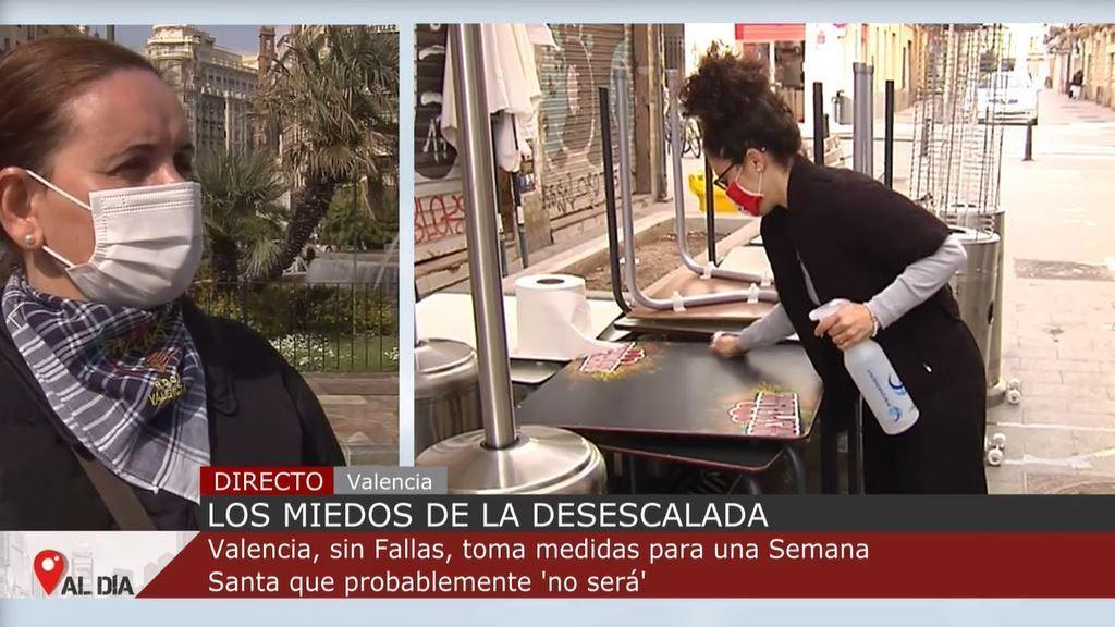 Miedo a la desescalada: Valencia, sin Fallas, toma medidas para una Semana Santa que probablemente no se celebrará